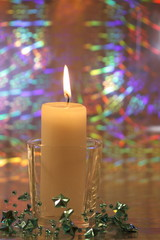 Christmas Candles - Xmas Decoration - Stock Photos Stock Images