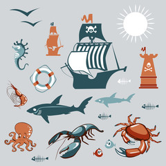 Sea collection sets