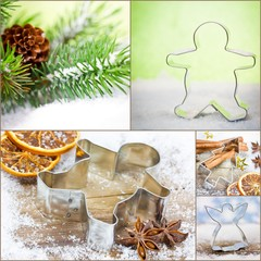 Weihnachtsgebäck Collage