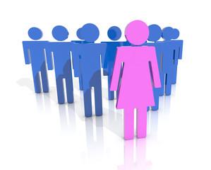 woman leader