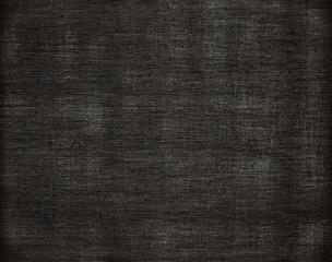 Black canvas grunge background texture