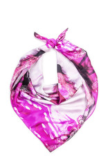 Scarf isolated on the white background