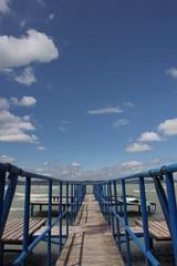 ocean, pier, Balaton