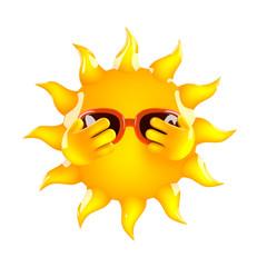 Sun peeps out