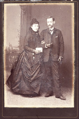 Old portrait of a marriage