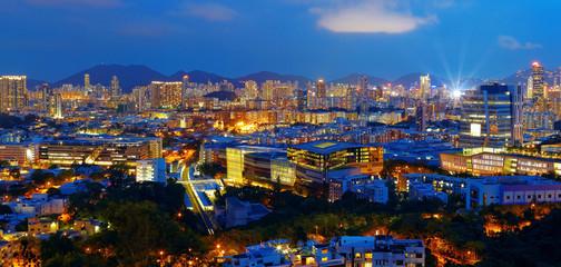hongkong city night