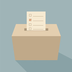 ballot box vote