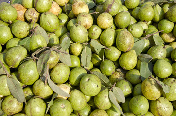 guava fruits in asian market, India
