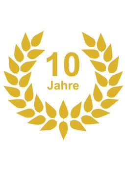 Lorbeerkranz 10 Jahre