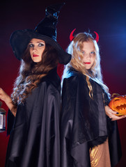 Witches in the dark