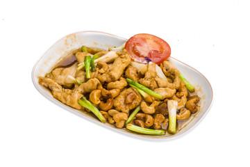 Chicken with cashew