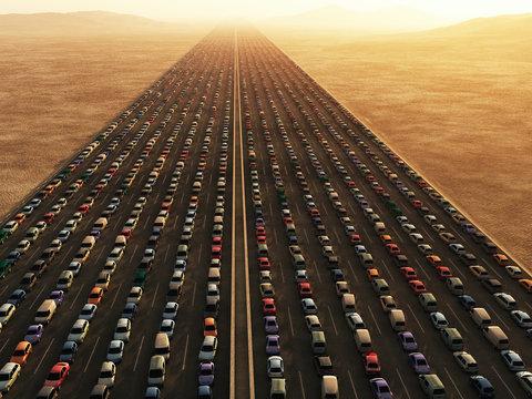 traffic collapse