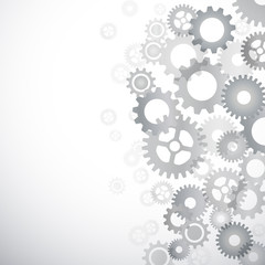 Fotomurales - Vector abstract gears background