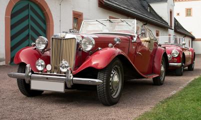 Fototapeta Oldimer, classic car, vintage pkw obraz