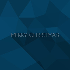 Abstract Merry Christmas Paper Card