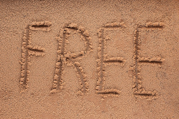 A word 'FREE'