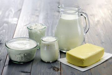 Diary Products, milk,cheese,ricotta, yogurt and butter