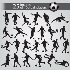 25 images of football players