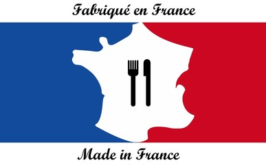 Wall Mural - Made In France