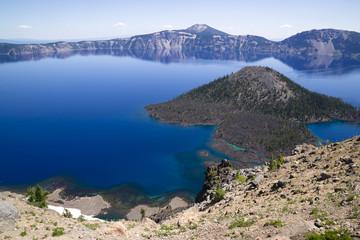 Crater Lake National Park Wizard Island West Rim Caldera