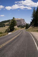 Rugged Oregon Two Lane Highway American Western Back Roads