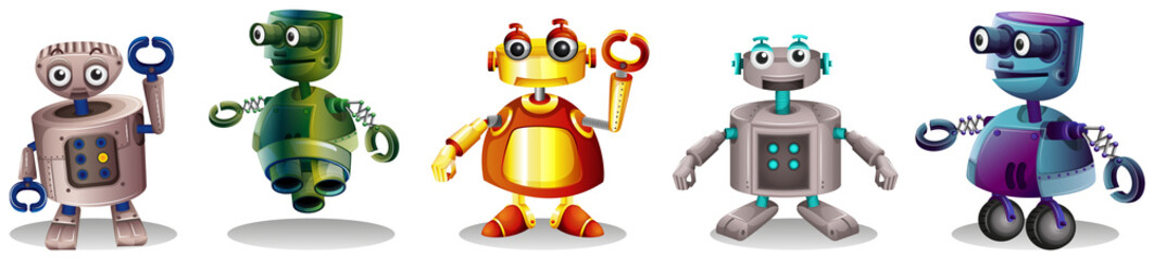 Different robot designs