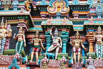 Printed roller blinds Delhi Meenakshi Temple