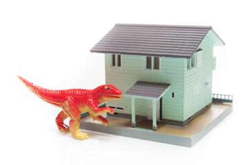 マイホームと恐竜