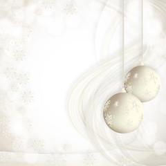 srebrna kartka świąteczna
