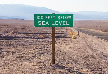 Fotoväggar - Below sea level