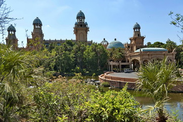 Palace of the Lost City hotel in Sun City