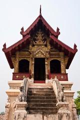 Thai temple church roof