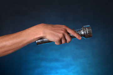 Hand with Flashlight