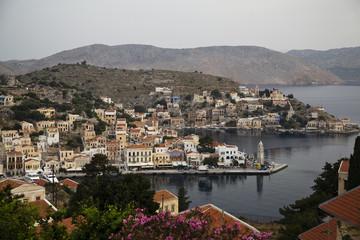 Острова Греции. Утро на Сими