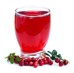 Fruit cranberries drink