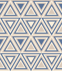 Fotobehang ZigZag Fashion abstract pattern with triangles