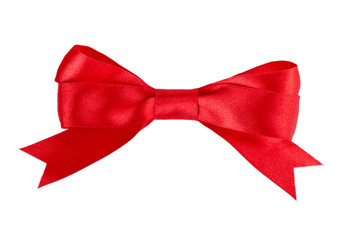 red bow ribbon