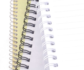 stack of blank notebooks