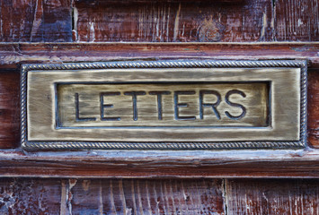 Letter box close-up