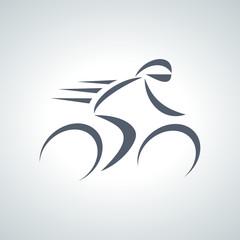 Fototapete - bicycle logo 2013_10 - 08