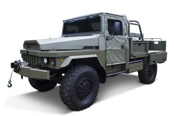 Vintage military vehicle