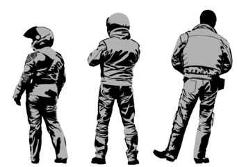 Wall Mural - Protective gear