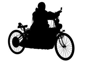 Fotomurales - Retro bike