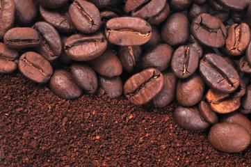 Aluminium Prints Coffee beans Saveur café
