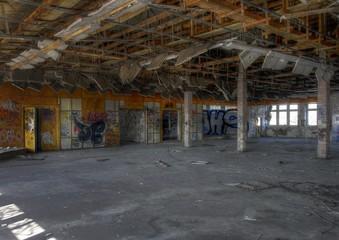 Wall Mural - Alter Konferenzraum