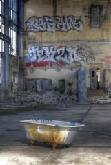 Wall Mural - Bathtube