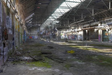 Wall Mural - Insolvent, pleite, Arbeitslosigkeit