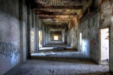 Wall Mural - Insolvent Fabrik, mehrere Bilder verfügbar
