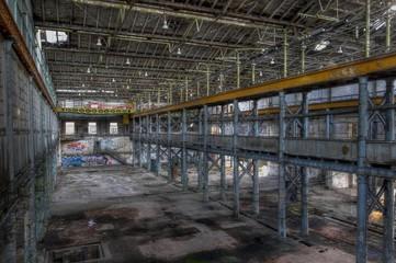 Wall Mural - Verlassene Fabrik