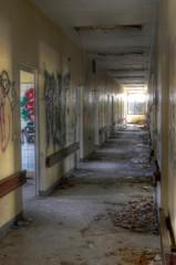 Wall Mural - Corridor in a hospital